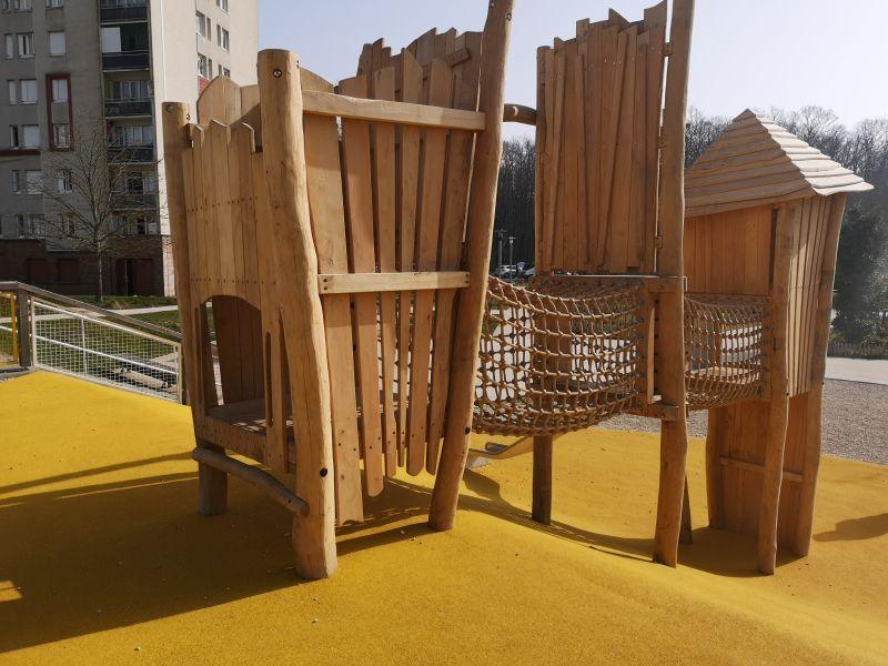 CASQY et Ville de la Verrière - Aire de jeux au Bois de l Etang