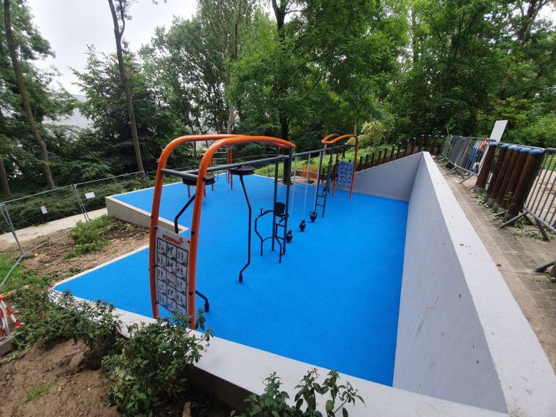 CD 94 - Aménagement d'aire de jeux petits et fitness au Parc du Rancy