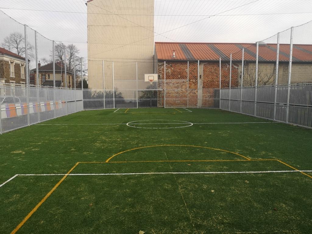 CD94 - Création d'un terrain multisport à Ivry sur Seine